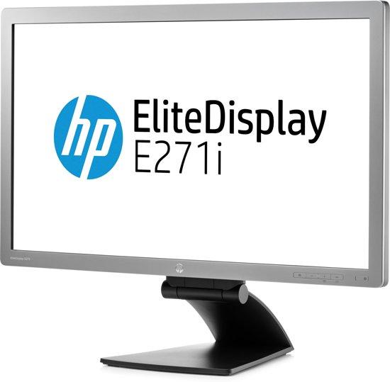 HP EliteDisplay E271i 27'' Full HD LED Zilver computer monitor