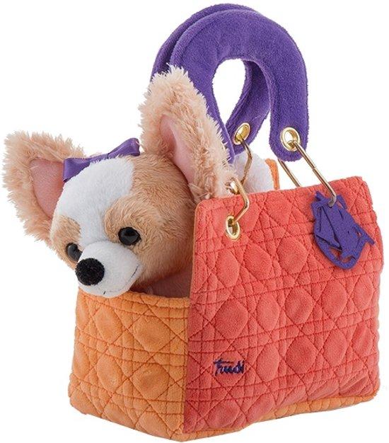 585318a7c64 bol.com | Trudi Knuffel Hond Chihuahua In Tas 20 Cm, Trudi | Speelgoed
