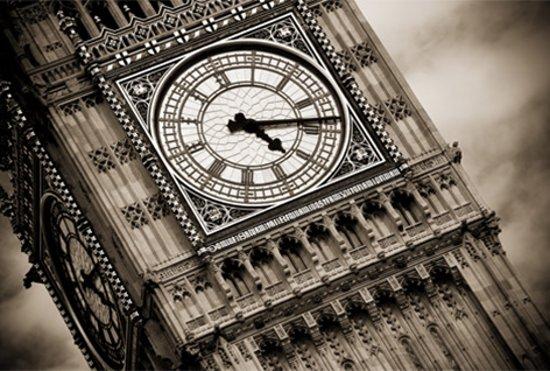   Schilderij van glas Big Ben Londen 60x90 cm
