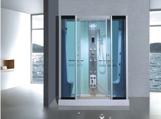 Douchecabine Met Achterwand : Bol.com sanifun complete douchecabine grando 1700 x 850