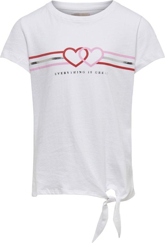 572bfcab bol.com   KIDS ONLY Meisjes T-shirt - Bright White - Maat 146/152