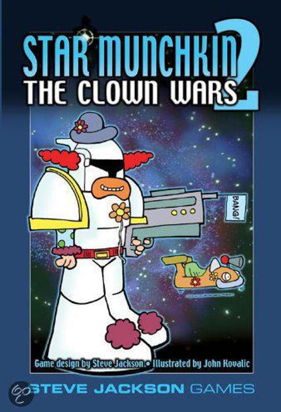 Afbeelding van het spel Star Munchkin 2 : Clown Wars