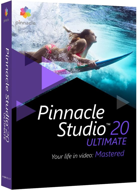 Pinnacle Studio 20 Ultimate - Nederlands / Engels / Frans - Windows