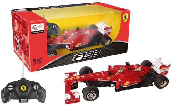Ferrari F1 Rc 1:18 Rood