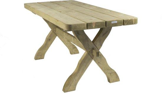 Bol houten tuintafel landelijke stijl cm mm houtdikte