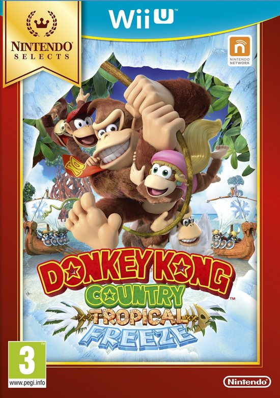 Donkey Kong Country, Tropical Freeze (Select) Wii U