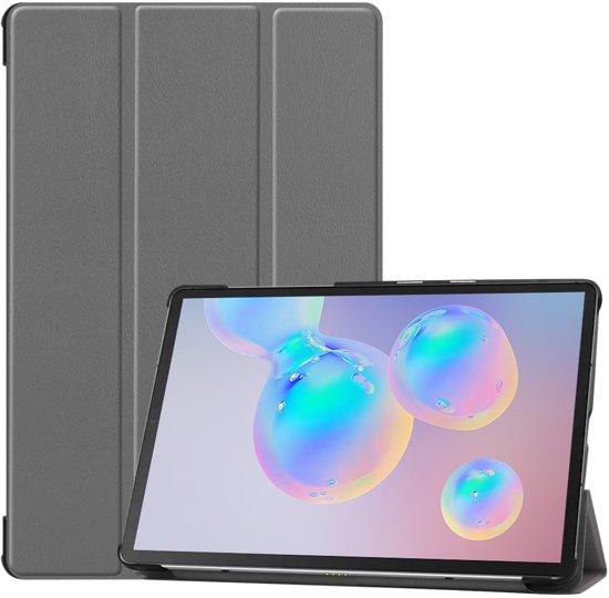 Smart Tri-Fold Case voor Samsung Galaxy Tab S6 - grijs
