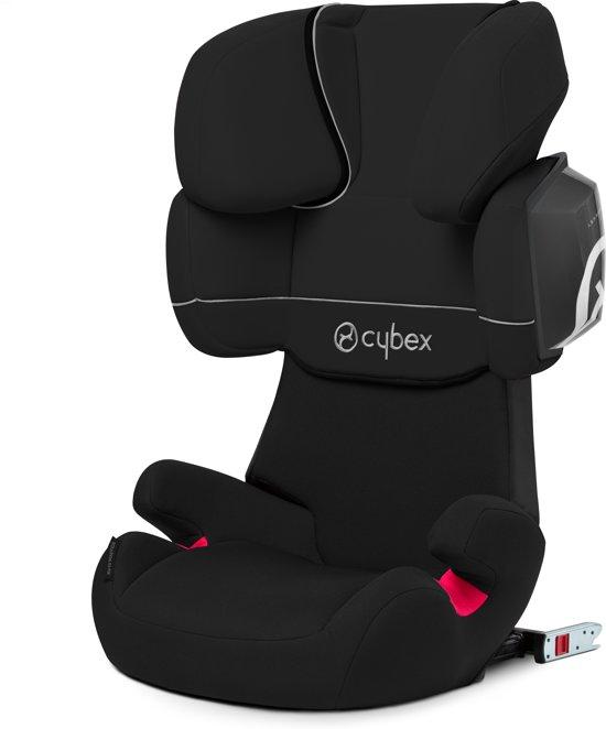 Cybex - Solution X2-Fix - Autostoel groep 2,3 - Pure Black - black