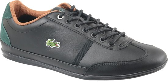 Lacoste Misano Sport CAM004602H, Mannen, Zwart, Sportschoenen maat: 44 EU