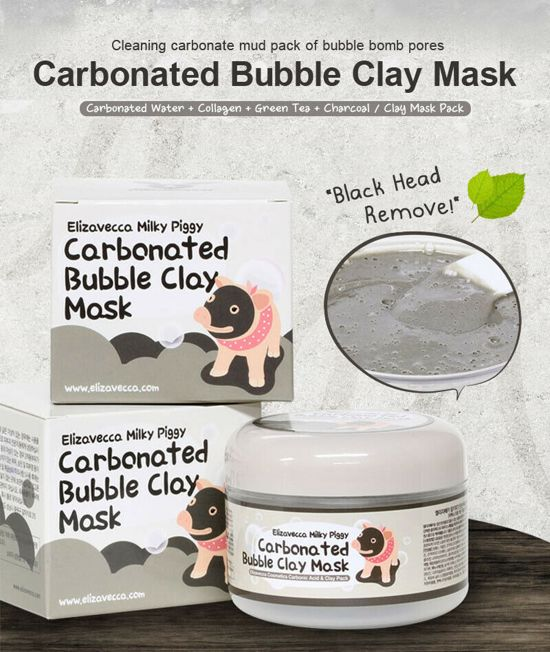 Elizavecca - Milky Piggy Carbonated Bubble Clay Masker