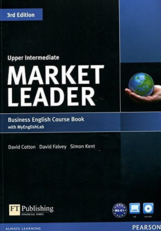 Market Leader  Upper Intermediate Coursebook with DVD-ROM and MyLab Access Code Pack