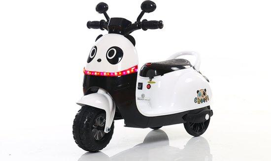 Panda Kinderscooter   Elektrisch Oplaadbaar   Verlichting   Muziek