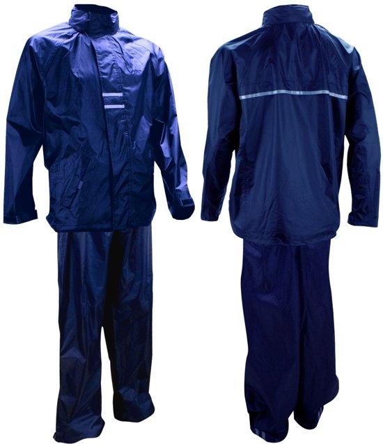 Ralka Regenpak - Volwassenen - Unisex - Maat L - Marine