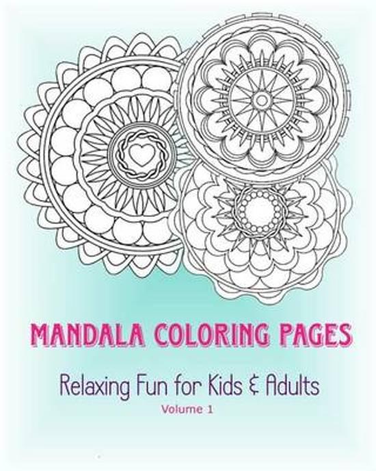 bol.com | Mandala Coloring Pages, Marie Pugh | 9781515300014 | Boeken