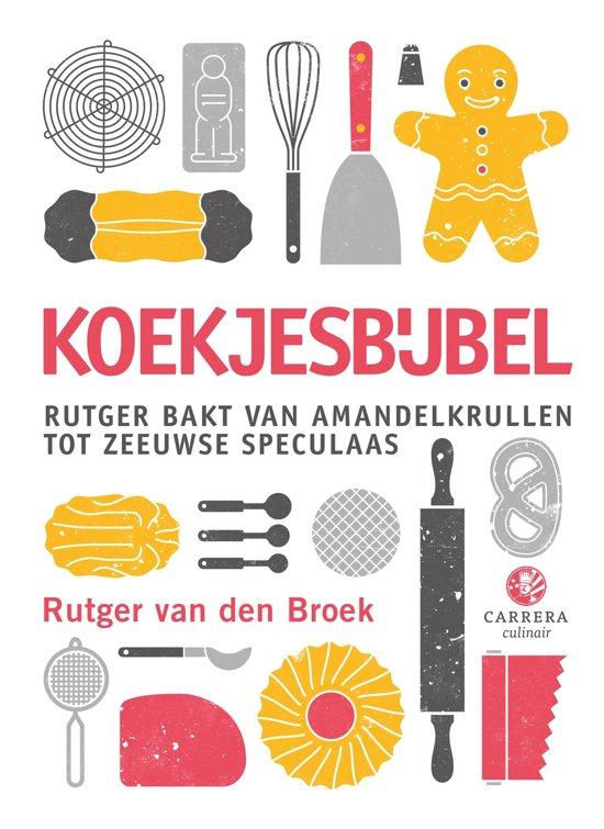 Boek cover Koekjesbijbel van Rutger van den Broek (Onbekend)