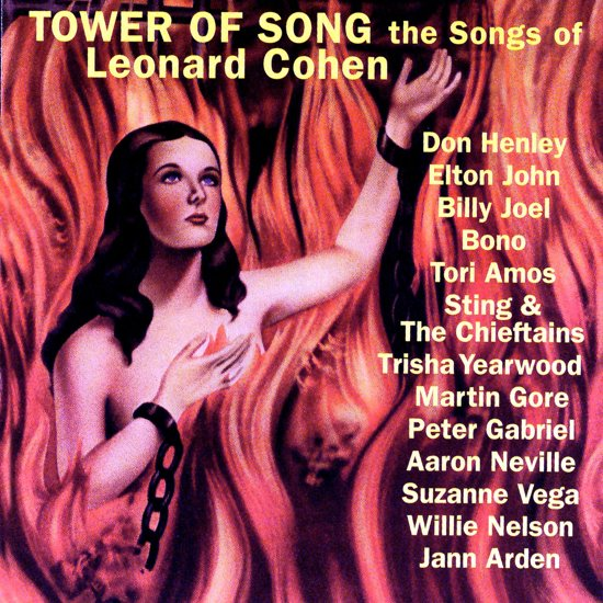 CD cover van A Tower Of Song/L.Cohen van various artists
