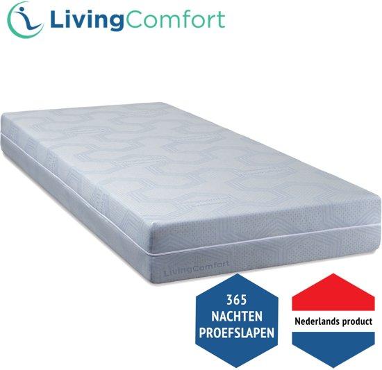 LivingComfort Excellence Pocketveren matras - 80 x 200 cm - Soepel