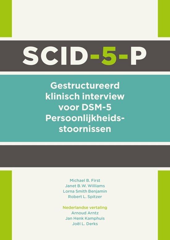 Boek cover SCID-5-P van American Psychiatric Association (Paperback)