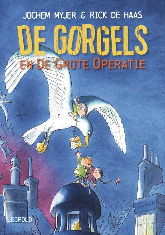 Boek cover Gorgels - De Gorgels en de grote operatie van Jochem Myjer (Hardcover)