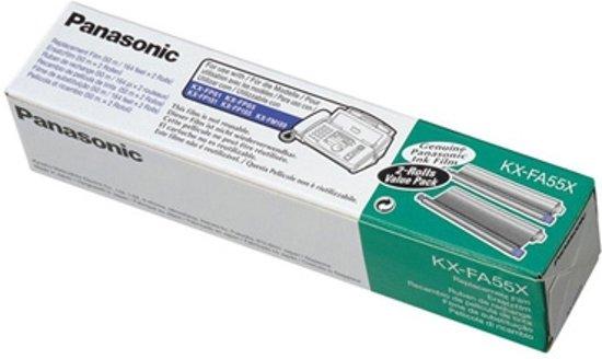 Panasonic KX-FA55X faxbenodigdheid 280 pagina's Zwart Faxlint 2 stuk(s)