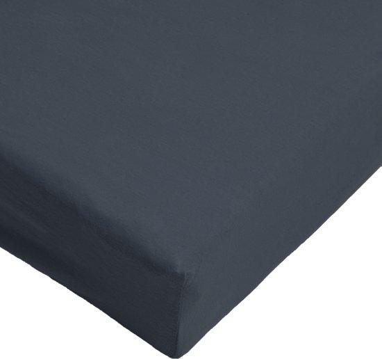 Day Dream - Hoeslaken - Jersey - 90 x 200 - Zwart