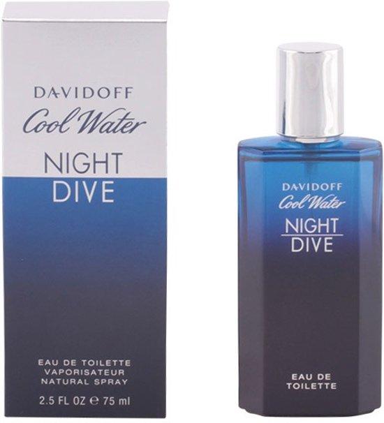 Davidoff Cool Water Night Dive 75ml Mannen 75ml eau de toilette
