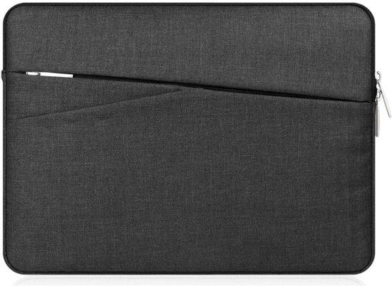 Shop4 - MacBook Air 13-inch (2010-2017) Hoes - Sleeve Business Zwart