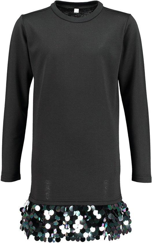 5f2740a0a6ef4d Zeeman - Meisjes jurk - zwart - maat 134 140
