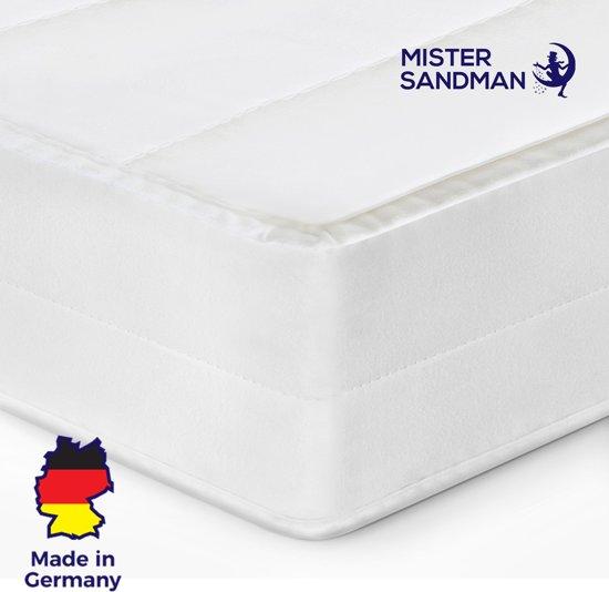 Matras - 90x190 - 7 zones - koudschuim - microvezel tijk - 15 cm hoog - medium & hard