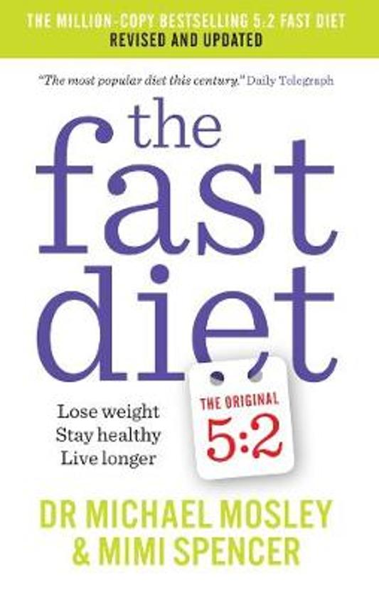 Boek cover The Fast Diet van Dr Michael Mosley (Paperback)