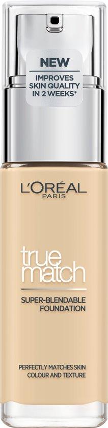 L'Oréal Paris True Match Foundation -1W/1D Golden Ivory - 30 ml