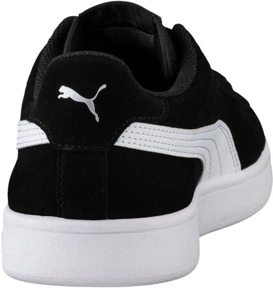 Maat puma Puma Silver Smash 44 Unisex Black V2 Sneakers White puma wcawxpzXqO