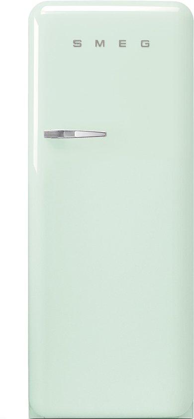 Smeg fab28rv1 koelkast licht groen - Koelkast groen ...