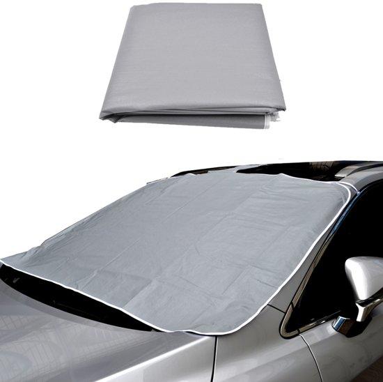 Anti vries deken auto met Magneten - Magnetische anti ijsdeken - Vorstbeschermer - Autoruit ontdooien - Vooruitbeschermer - Auto ijsvrij maken