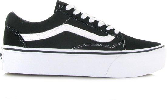 vans schoenen dames zwart wit