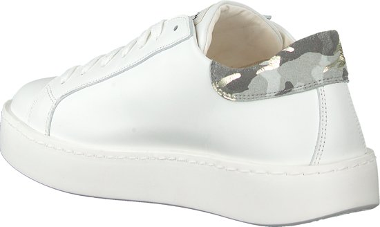 WOMSH Dames Lage Sneakers Concept Wit Maat 38