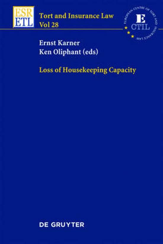 Loss of Housekeeping Capacity