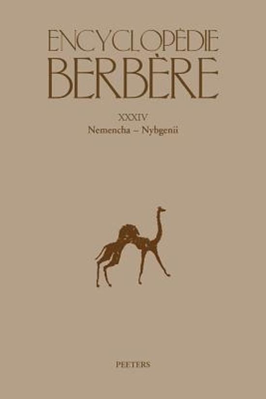 Encyclopedie Berbere. Fasc. XXXIV