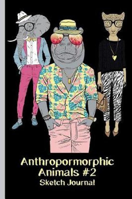Anthropomorphic Animals #2 Sketch Journal