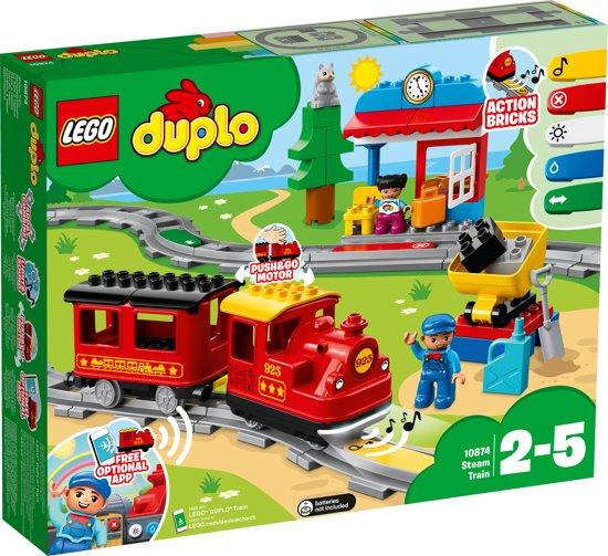 Afbeelding van LEGO DUPLO Treinen Stoomtrein - 10874 speelgoed