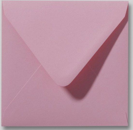 100 Enveloppen - Vierkant 14x14cm - Lila