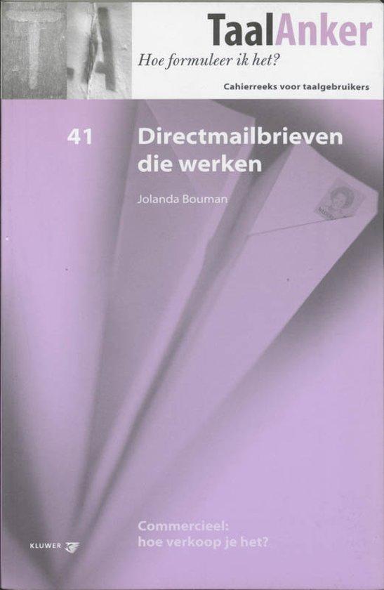 Directmailbrieven Die Werken