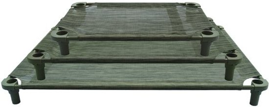 Dogzone honden stretcher 102 x 132 cm Groen