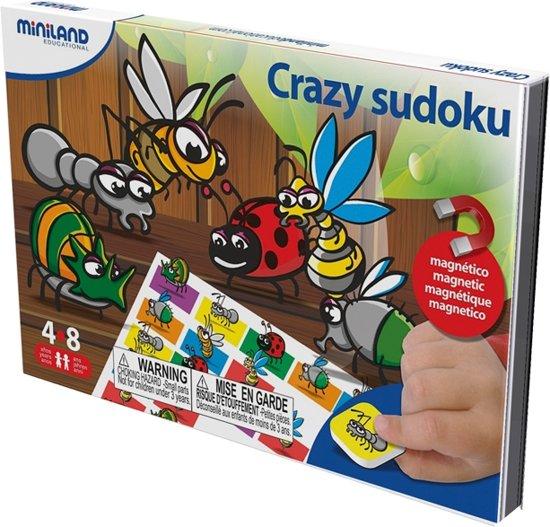 Afbeelding van het spel CRAZY SUDOKU, magnetisch spel voor onderweg