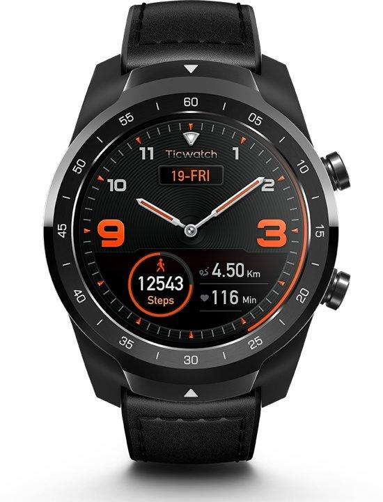 Ticwatch Pro - Smartwatch - Shadow Black