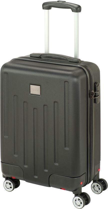 ba4e04ec079 bol.com | Princess Traveller Detroit Handbagage Koffer - 55 cm - Zwart