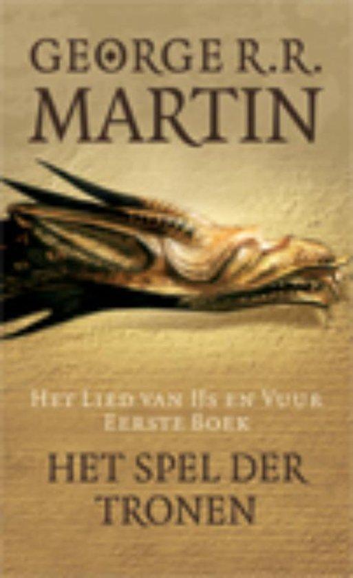Boek cover Het spel der tronen van George R.R. Martin (Hardcover)