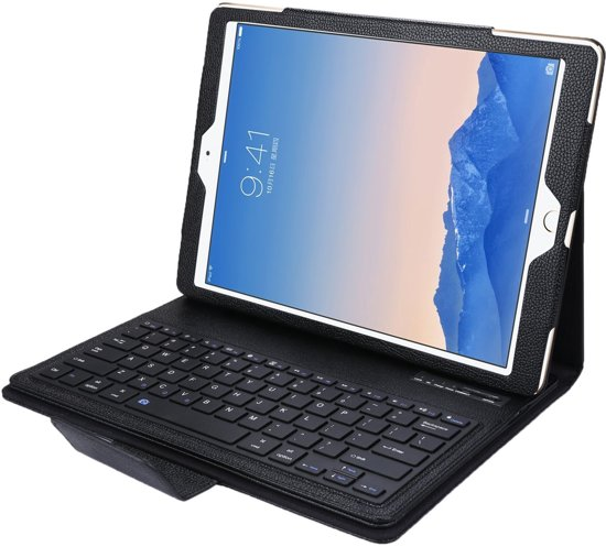"Lederen Bluetooth Keyboard Case voor iPad Pro ""12,9"