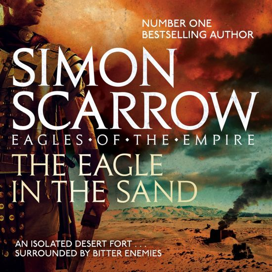 Boek cover The Eagle In The Sand (Eagles of the Empire 7) van Simon Scarrow (Onbekend)
