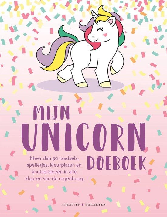 Kleurplaten Unicorn.Bol Com Mijn Unicorn Doeboek 9789045213101 Boeken